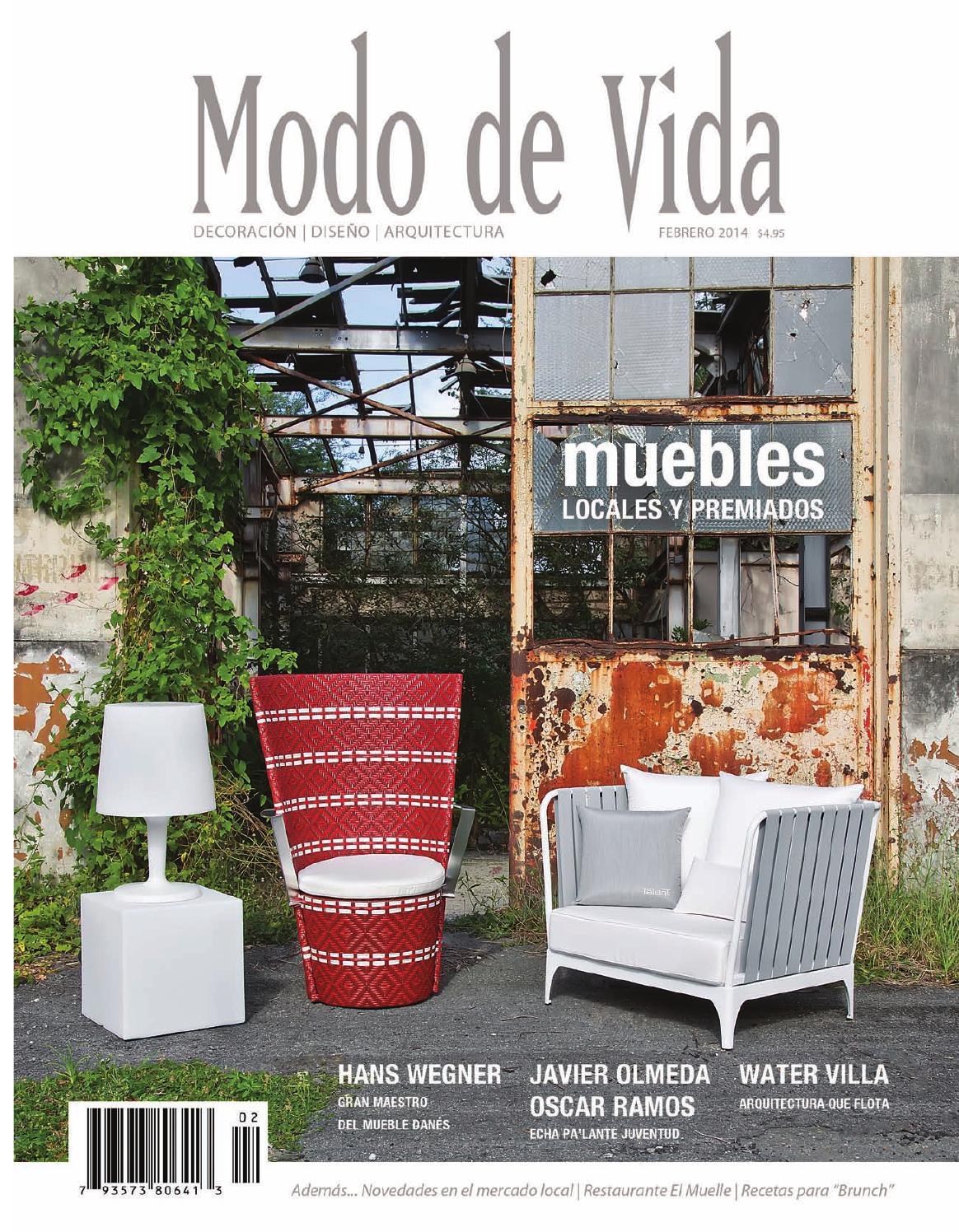 Modo De Vida October 2013 By Modo De Vida Issuu # Muebles Tubulares Ponce