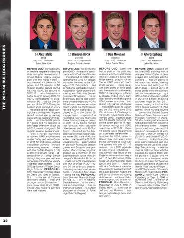96f775fe6 UMD Men's Hockey Media Guide/Yearbook by UMD Bulldogs - issuu