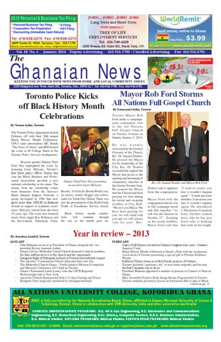 Ghanaian News January 2014 Edition by Emmanuel Ayiku - issuu