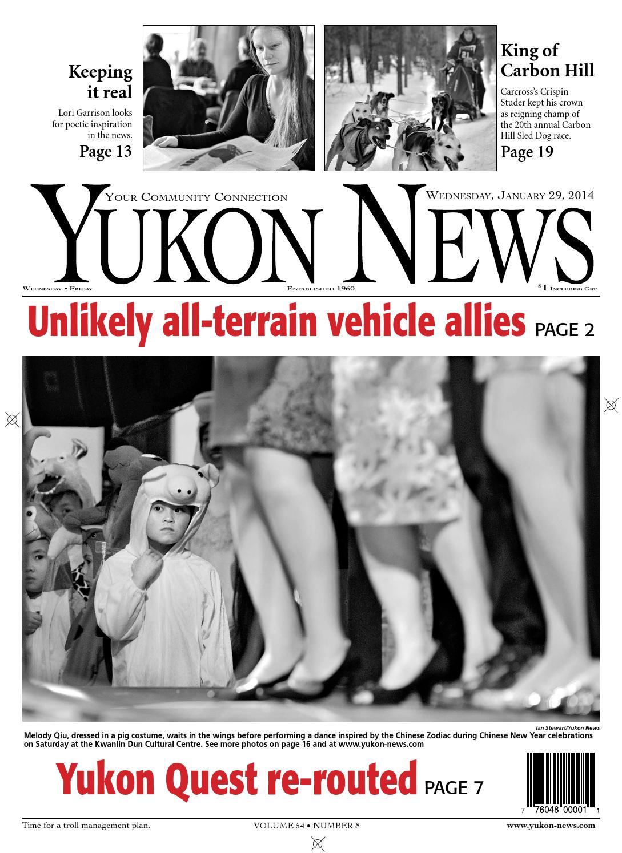 Yukon News, January 29, 2014