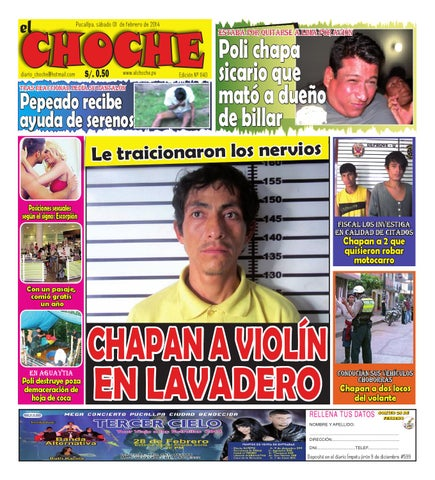 El Choche 1 De Febrero De 2014 By Diario El Choche Issuu