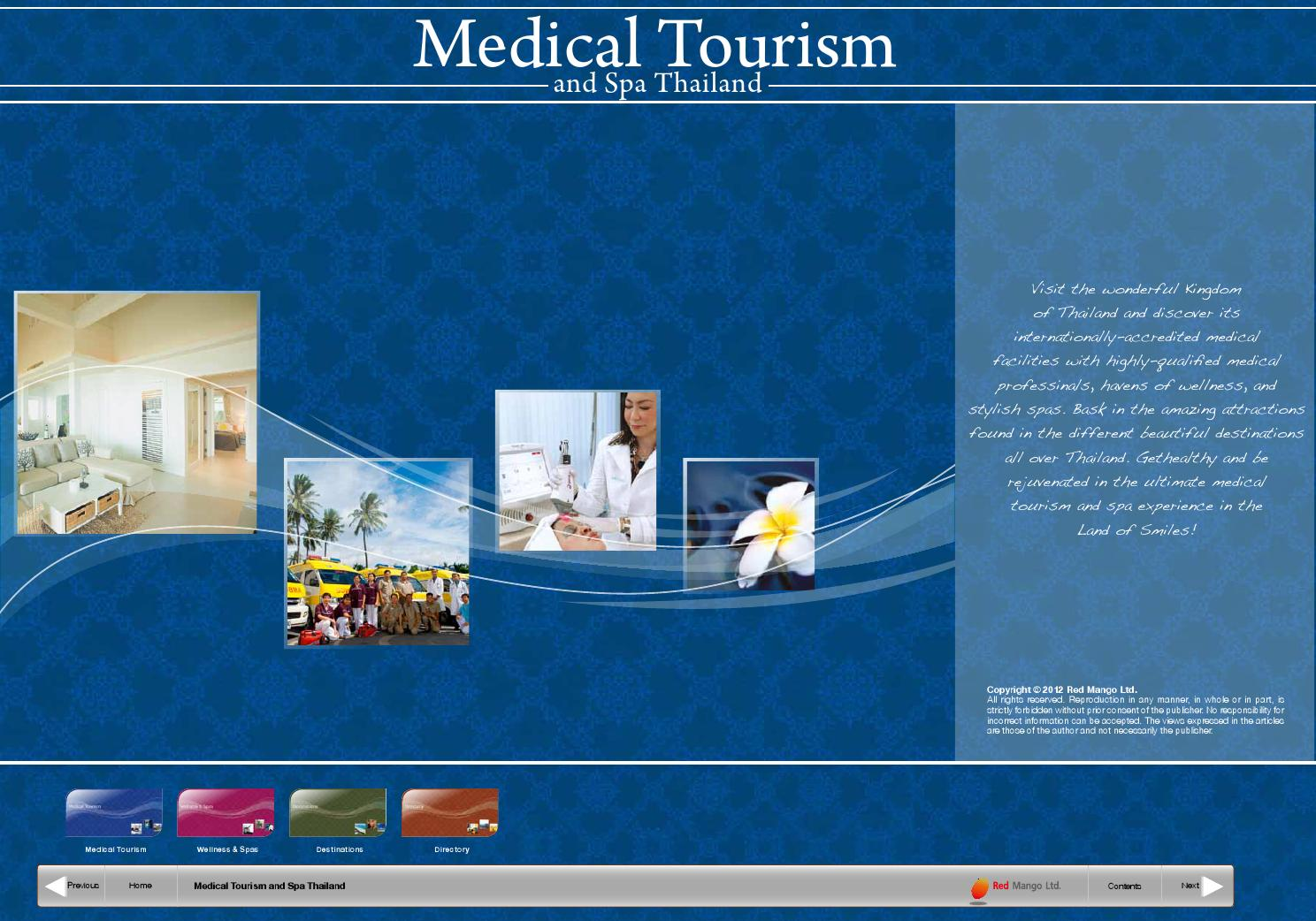 Medical Tourism and Spa in Thailand by Bookletia - issuu