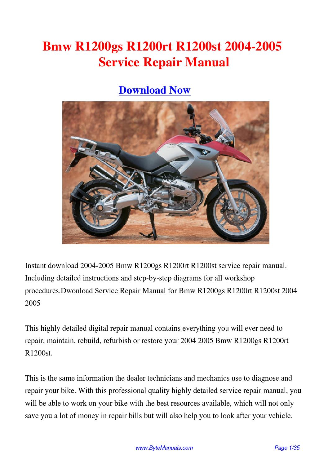 Bmw r1200rt radio manual pdf