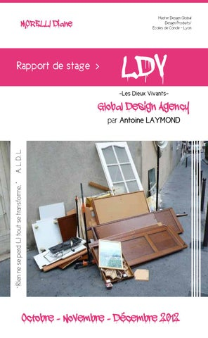 rapport de stage ldv global design agency 2012 by diane m issuu. Black Bedroom Furniture Sets. Home Design Ideas