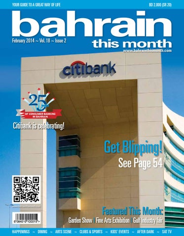 Bahrain This Month - February 2014 by Red House Marketing - issuu