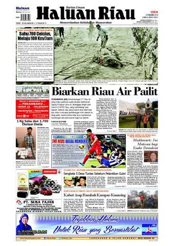 Haluanriau 2014 02 03 by Haluan Riau - issuu d476030027