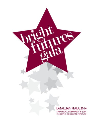 2eb8e45f9 Lasallian 2014: Bright Futures Gala Catalog by Kate LaBrake - issuu
