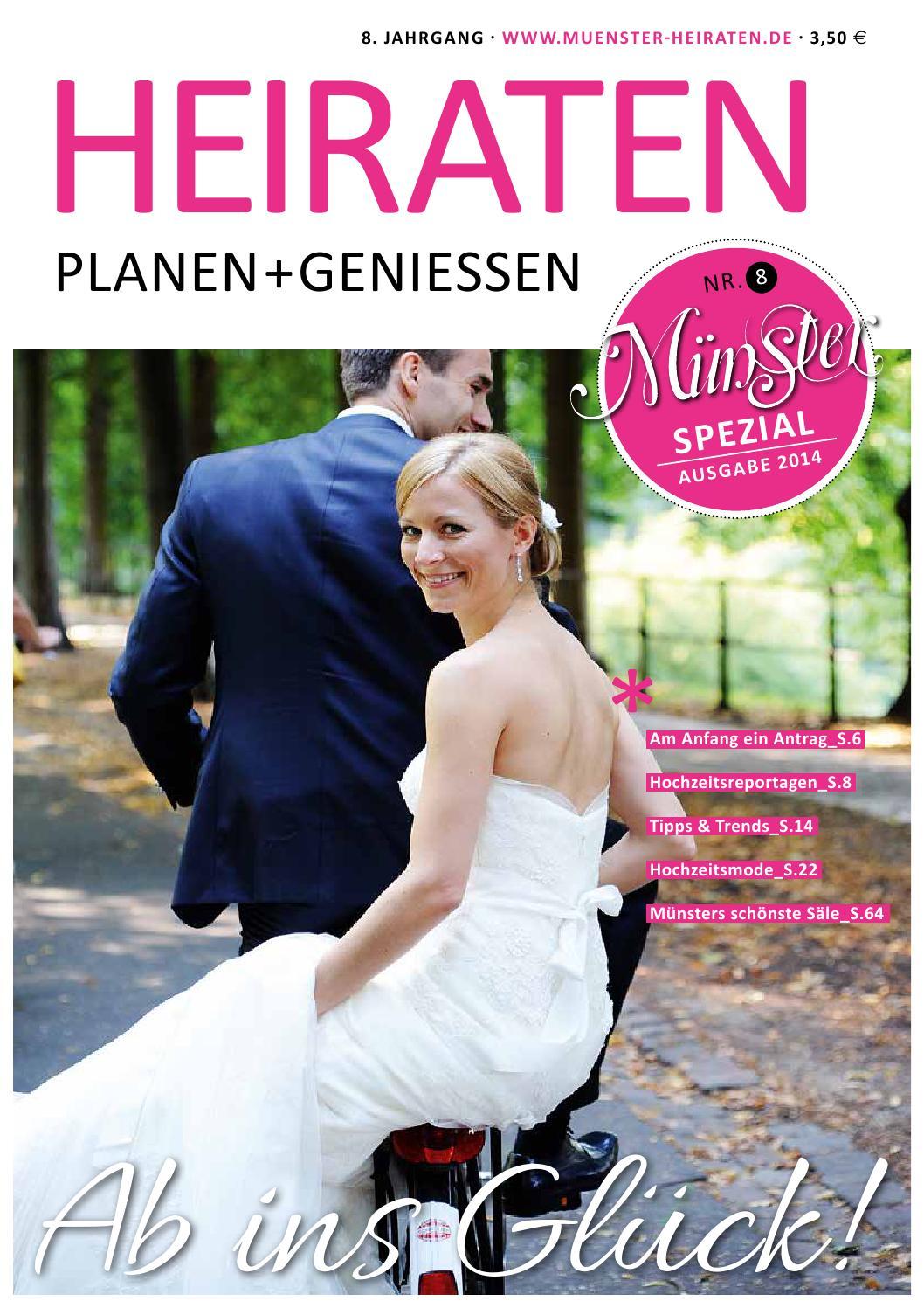 Münster Spezial Heiraten PLANEN + GENIESSEN by Tips Verlag GmbH - issuu