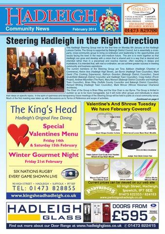 Hadleigh Community News, February 2014 by Keith Avis