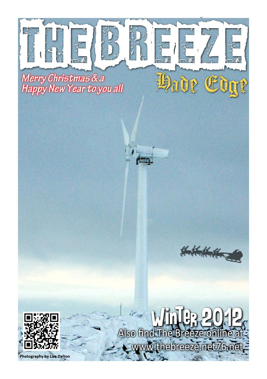 The Hade Edge Breeze Newsletter - 2012 - Winter Edition by Hade Edge ...