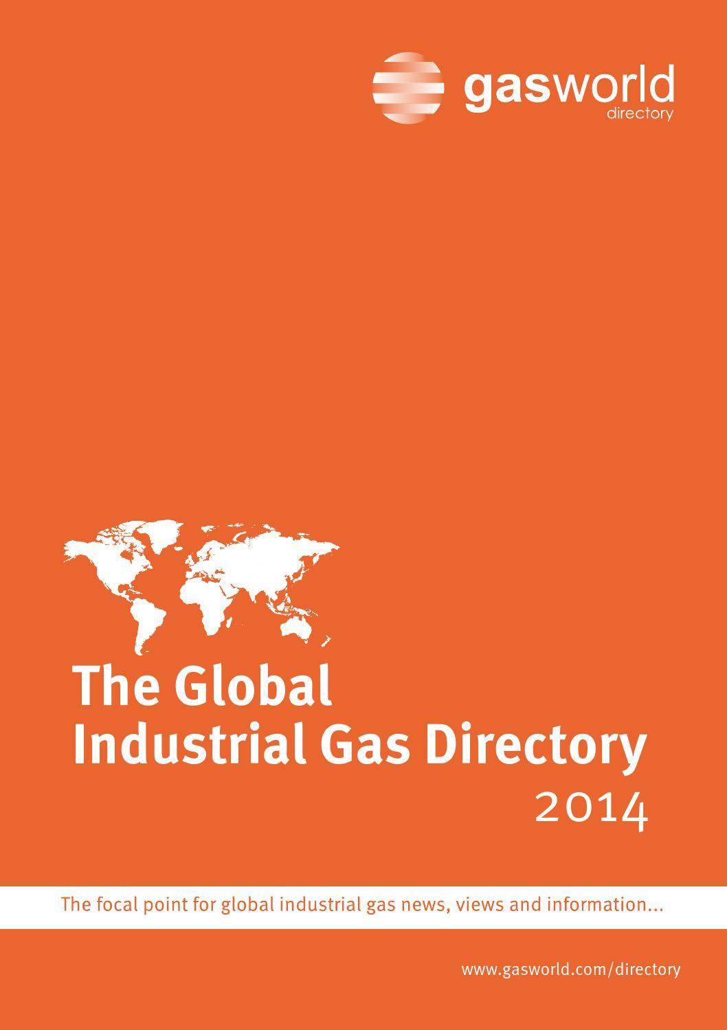 gasworld Global Industrial Gas Directory 2014 by gasworld - issuu