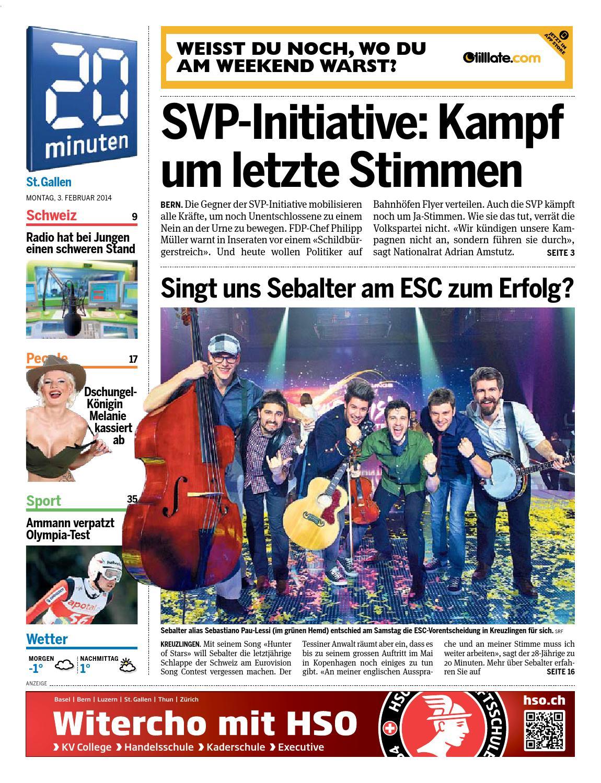Sg 20140203 by 02elf Düsseldorfer Abendblatt Zeitungsverlag - issuu