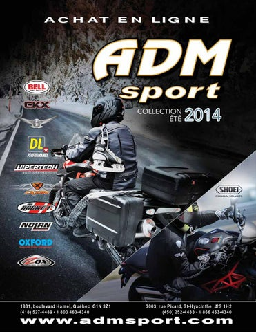 Catalogue ADM Sport collection moto 2014 by ADM Sport - issuu b3377726e785