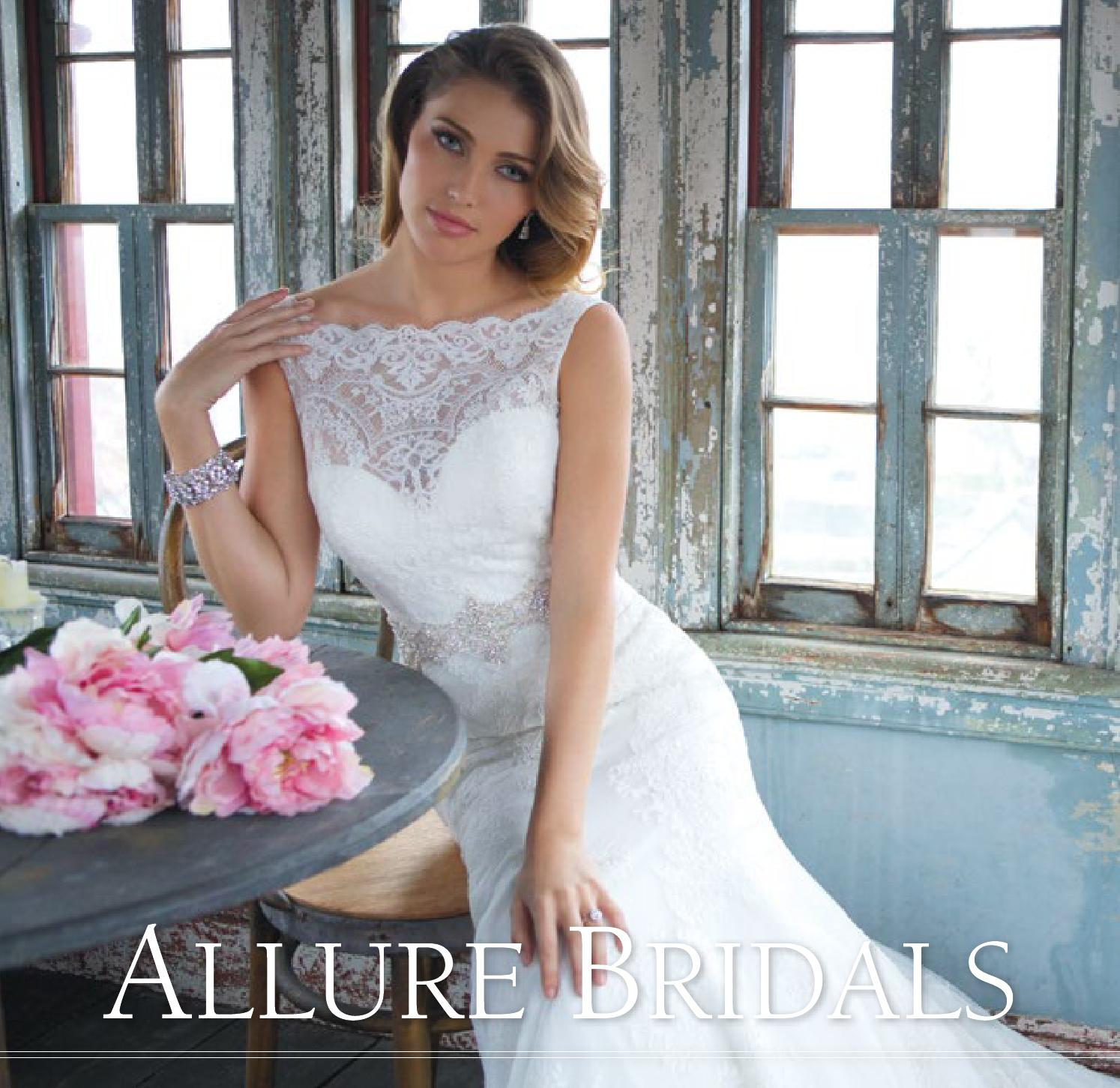 Allure Bridals Style 2700: Allure Bridals Spring Look Book By Allure Bridals