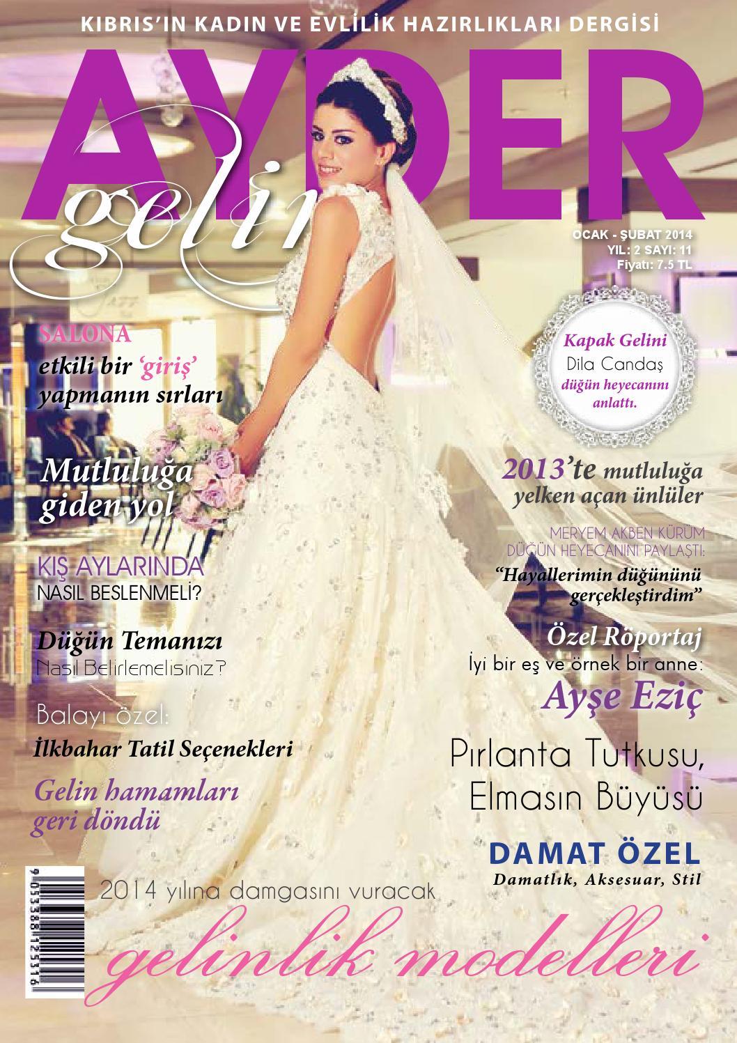 Ayder Gelin Sayı 30 - N.Cyprus Wedding Magazine by ACM I