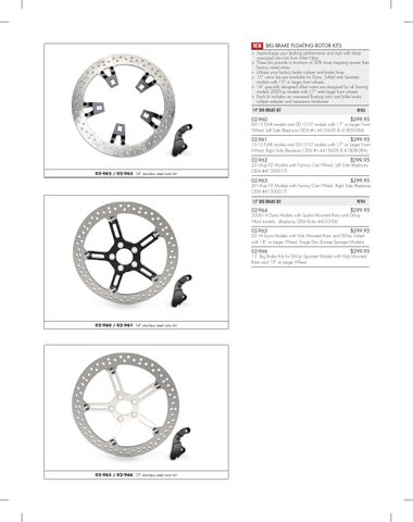 Arlen Ness 02-963 14 Big Brake Floating Rotor Kit
