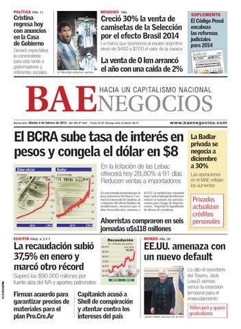 b059f4587c Diario BAE 2014 02 04 by Grupo Crónica - issuu
