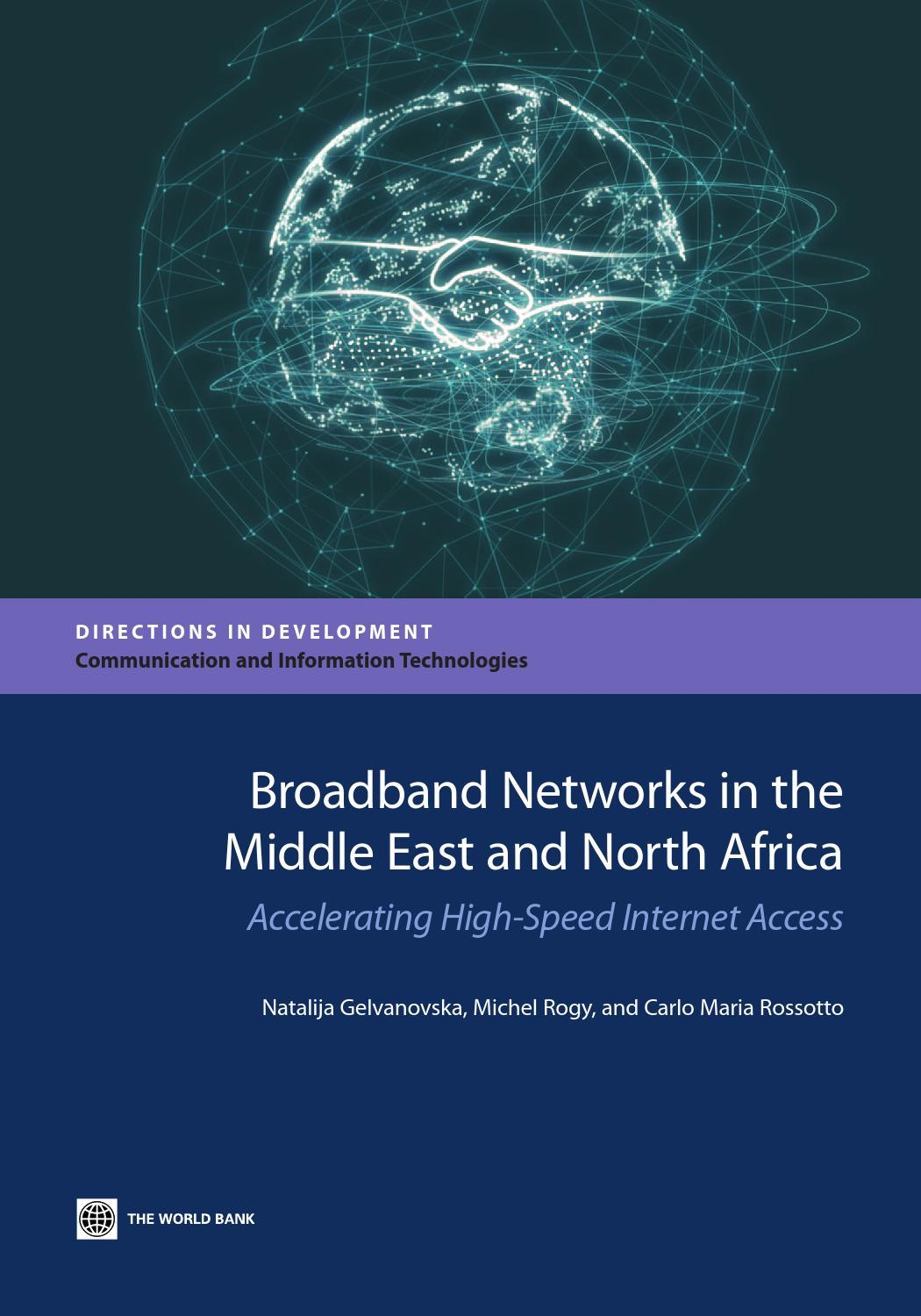 Broadband Networks In The Middle East And North Africa By World