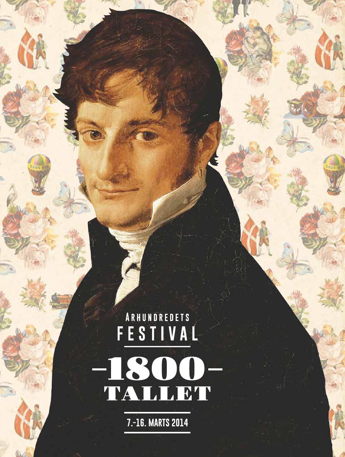 program for 197rhundredets festival 1800 tallet by