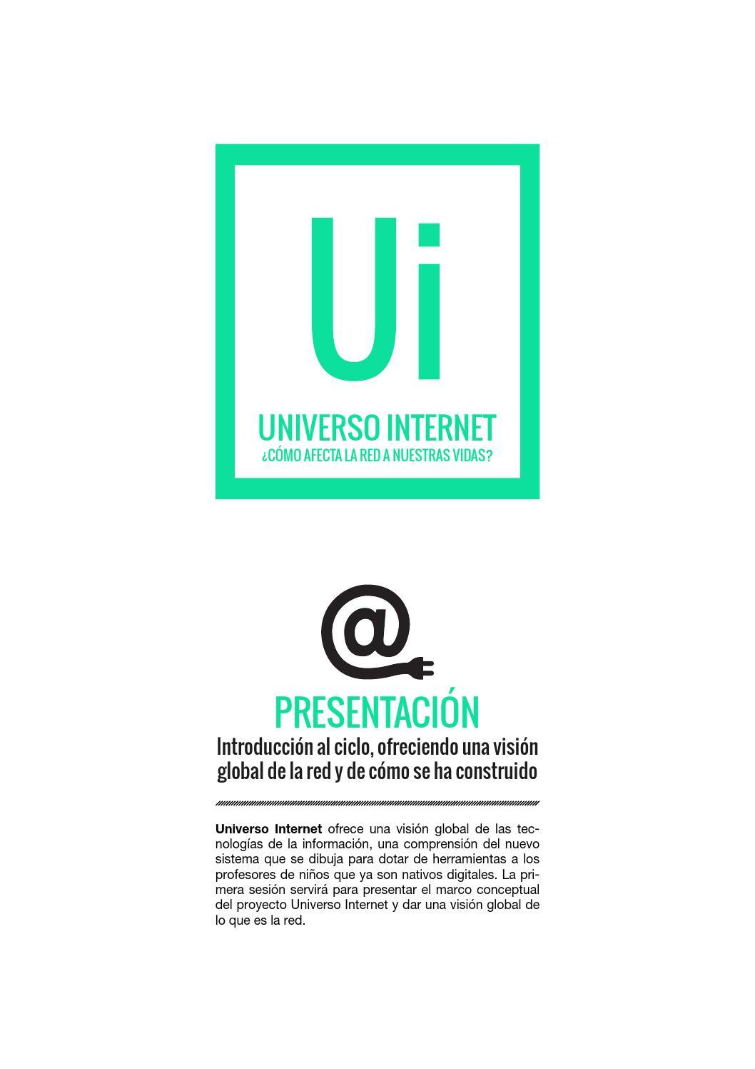 Universo Internet / 1. Presentación (castellano) by Centre de ...