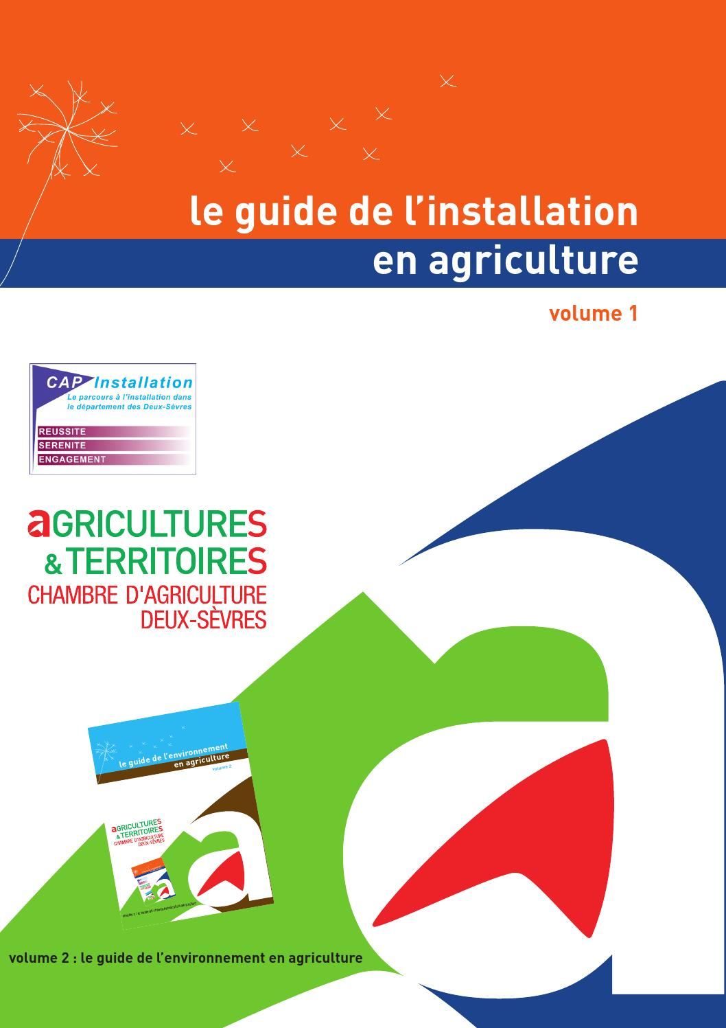 Le Guide De Lu0027installation En Agriculture By CA79 Communication   Issuu