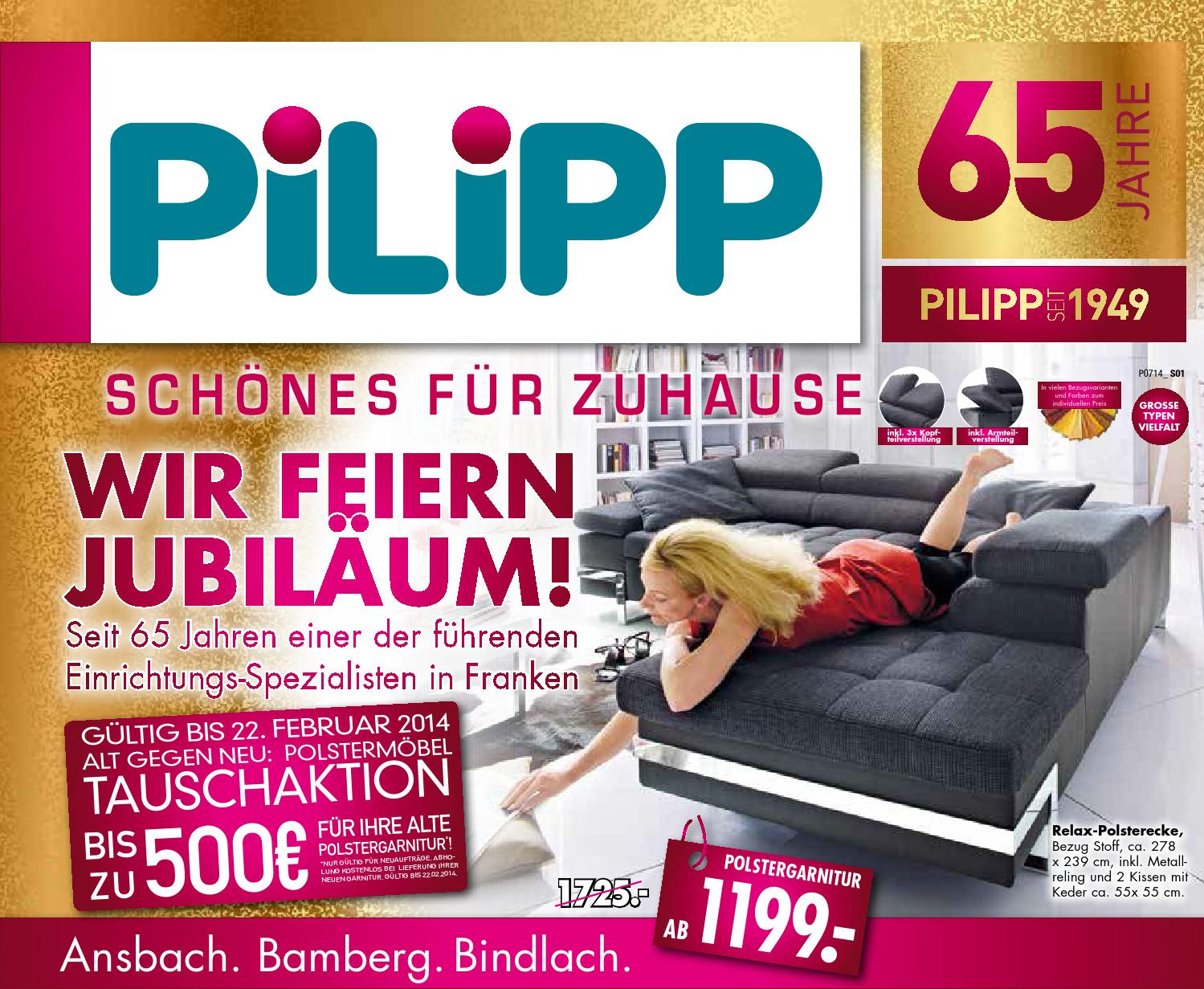 pilipp 12 02 14 by nordbayerischer kurier gmbh co. Black Bedroom Furniture Sets. Home Design Ideas