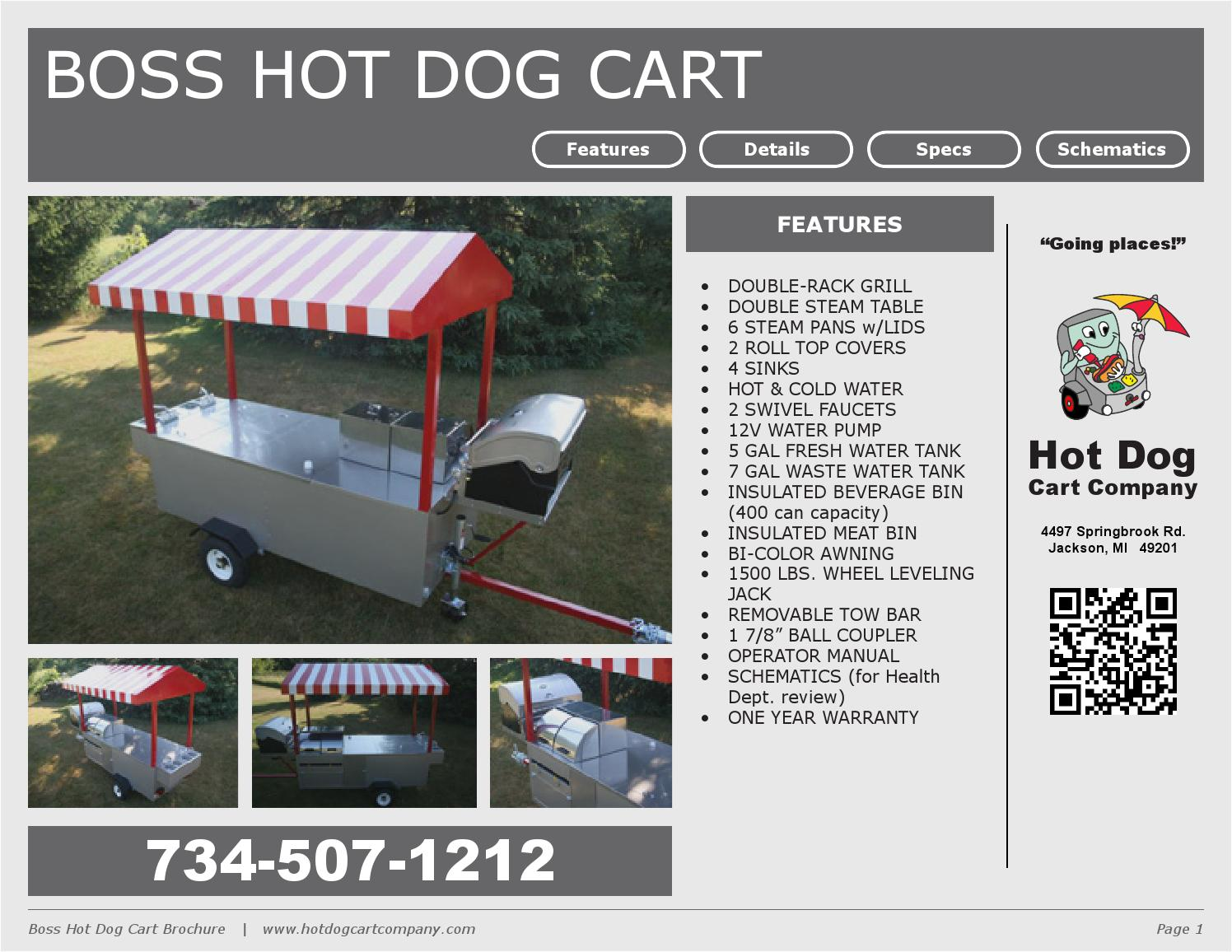 The Boss Hot Dog Cart Hot Dog Cart Company By Hot Dog Cart Company