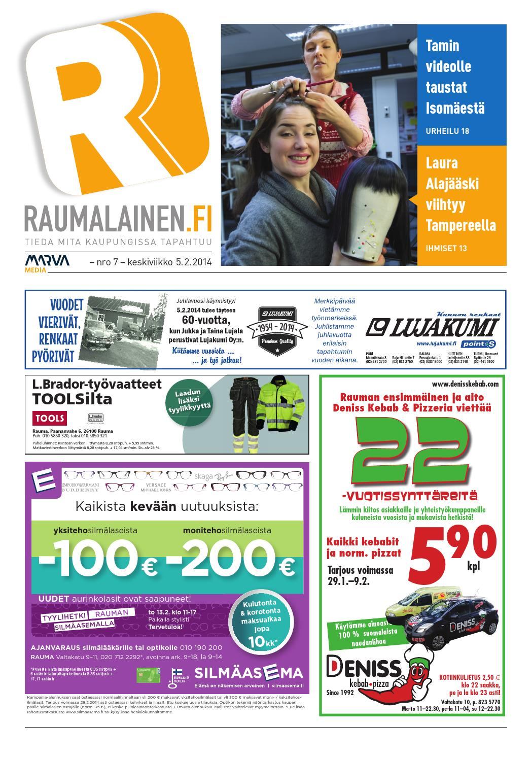 Raumalainen 5 2 2014 by Marva Group - issuu 83cce50c9d