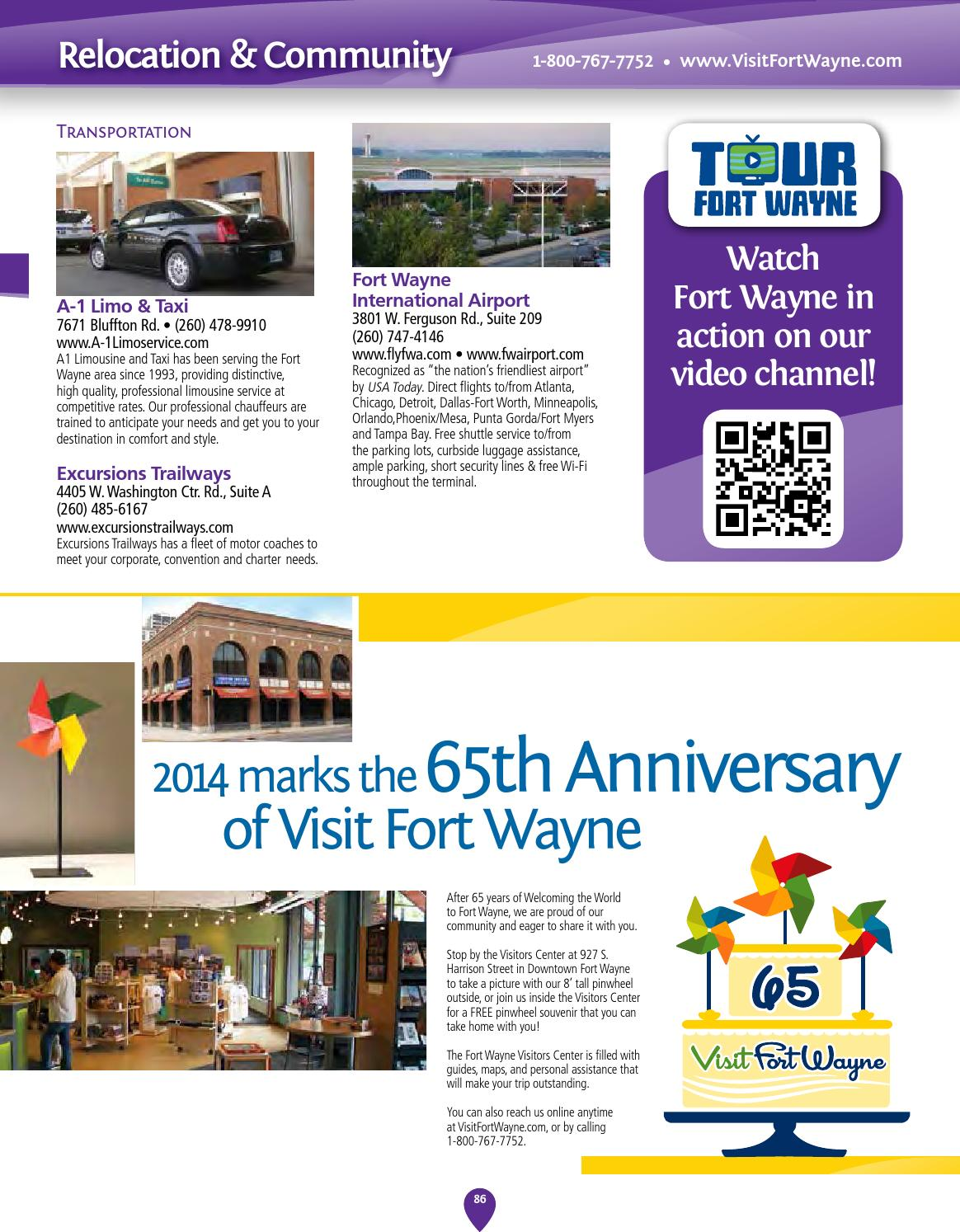 2014 Fort Wayne Visitors Guide by Visit Fort Wayne - issuu