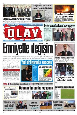 05 02 2014 Gazete Sayfalari By Diyarbakir Olaygazetesi Issuu