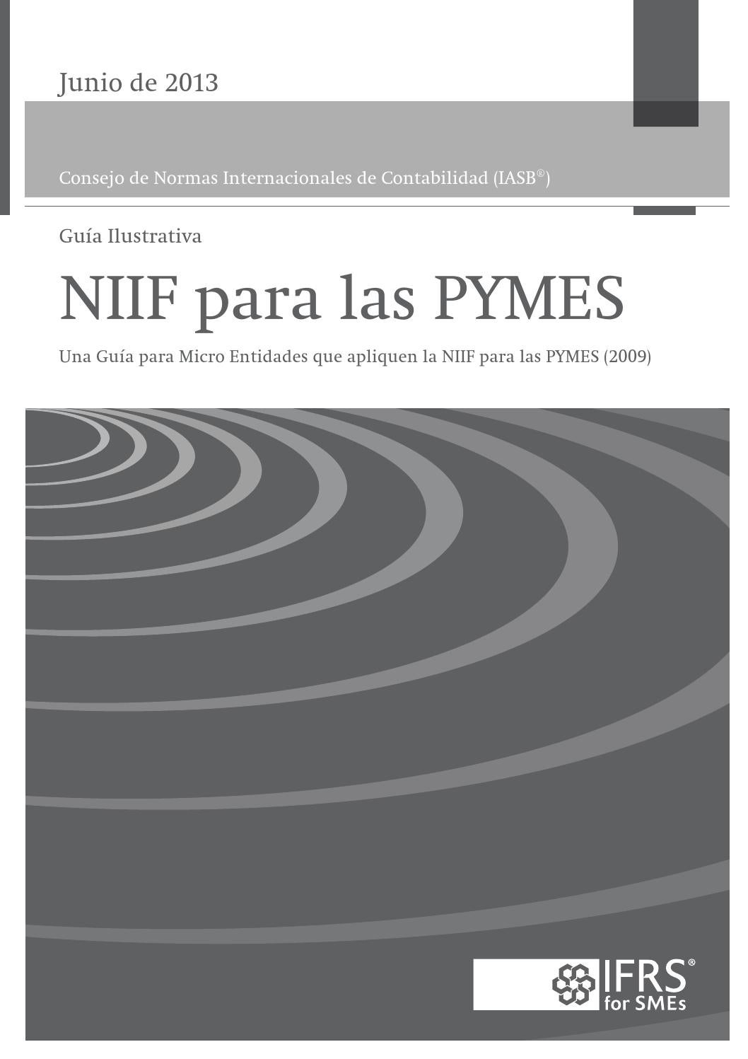 Niif Para Pymes Guía Para Micro Entidades By Orlando Pineda