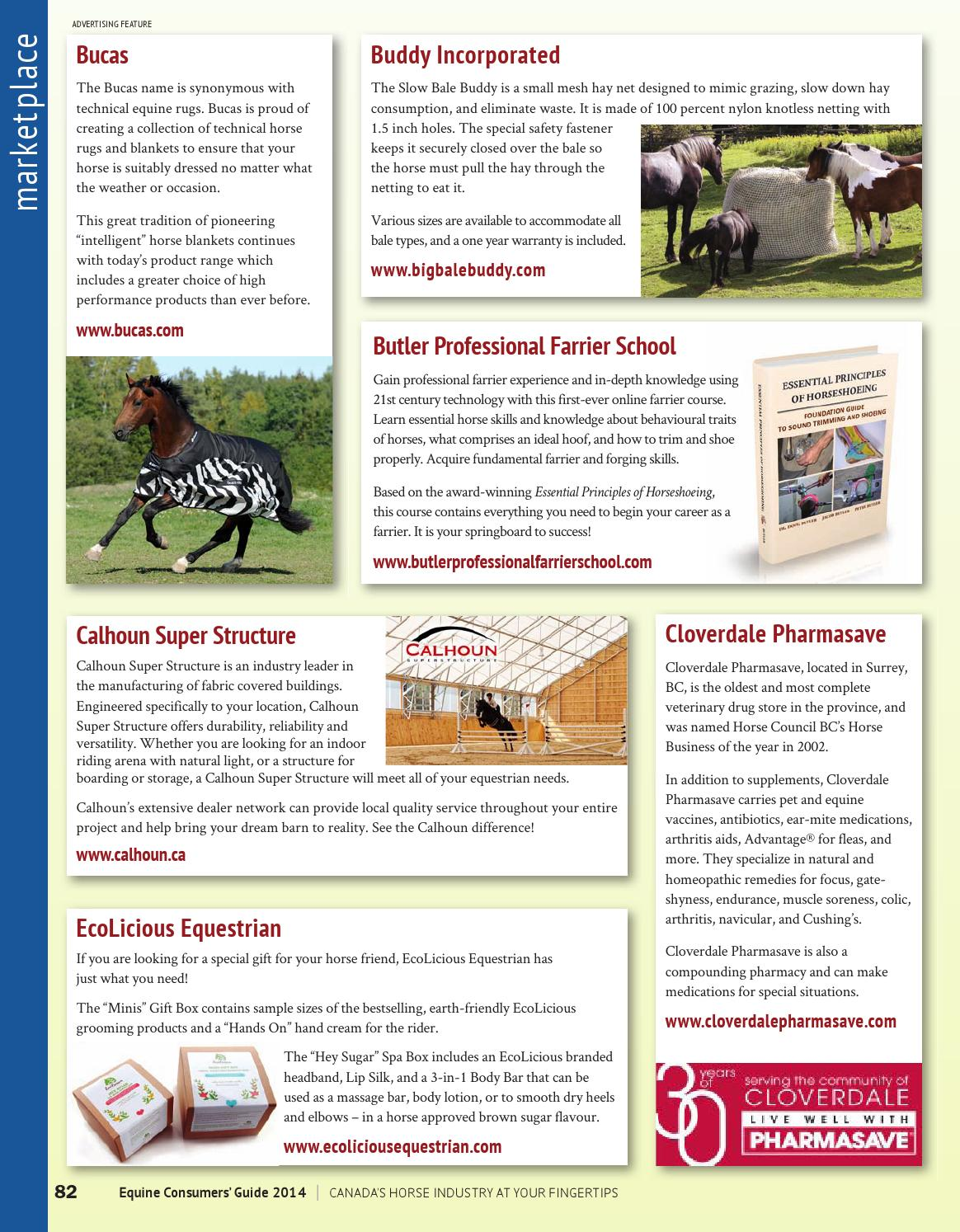 Equine Consumers' Guide 2014 - PREVIEW by Horse Community