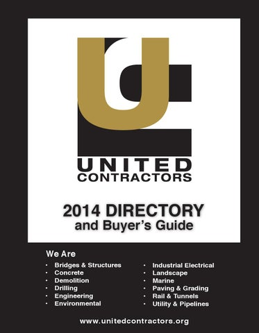 UCON DIRECTORY   BUYER S GUIDE 2014 by Denise Ramirez - issuu 337cfeaee8cb1