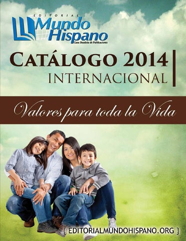 Catlogo 2014 internacional by editorial mundo hispano issuu page 1 fandeluxe Image collections