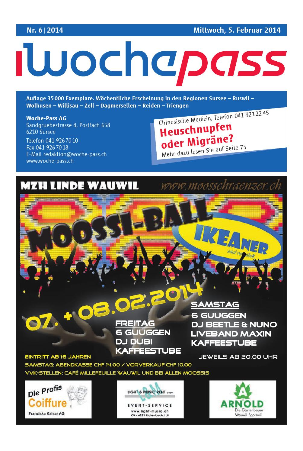 Woche Pass | KW 6 | 5. Februar 2014 by Woche Pass AG issuu