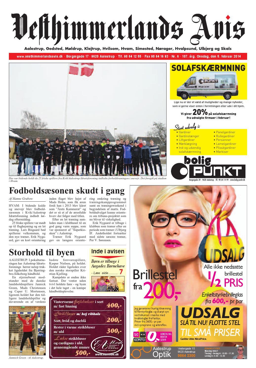 e5f1b51862ca Vesthimmerlands Avis nr. 6 - 2014 by Vesthimmerlands Avis - issuu