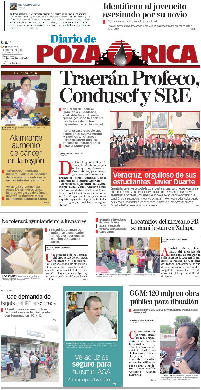 Diario De Poza Rica 5 De Febrero De 2014 By Diario De Poza