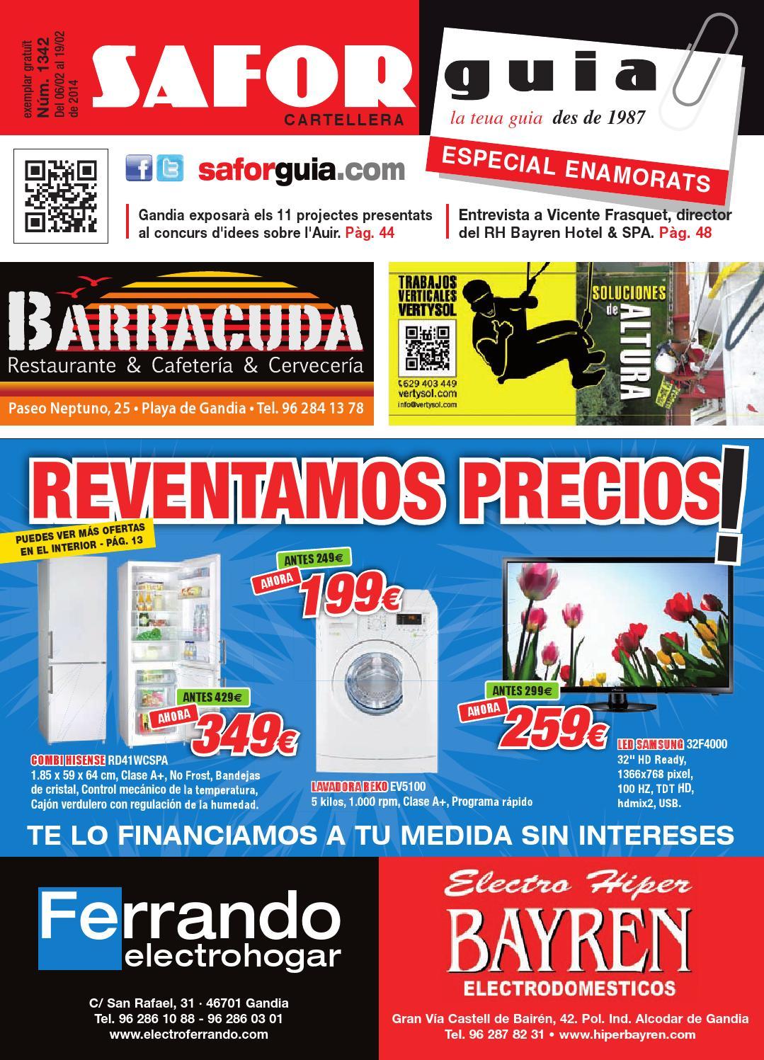 Publicaci N Del 6 Al 19 De Febrero De 2014 By Saforguia  # Muebles Peiro Quart De Poblet