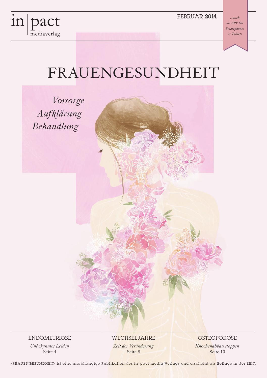 Frauengesundheit - Vorsorge, Aufklärung, Behandlung by in|pact media ...