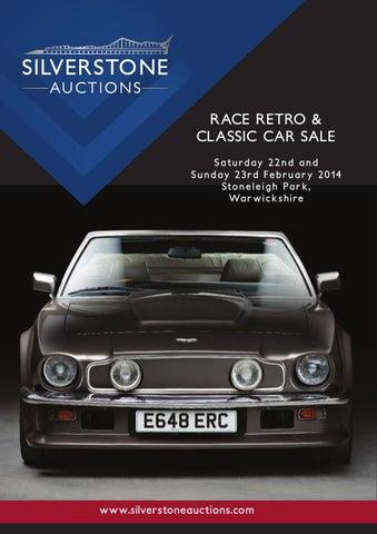 Silverstone Auctions Race Retro & Classic Car Sale February 2014