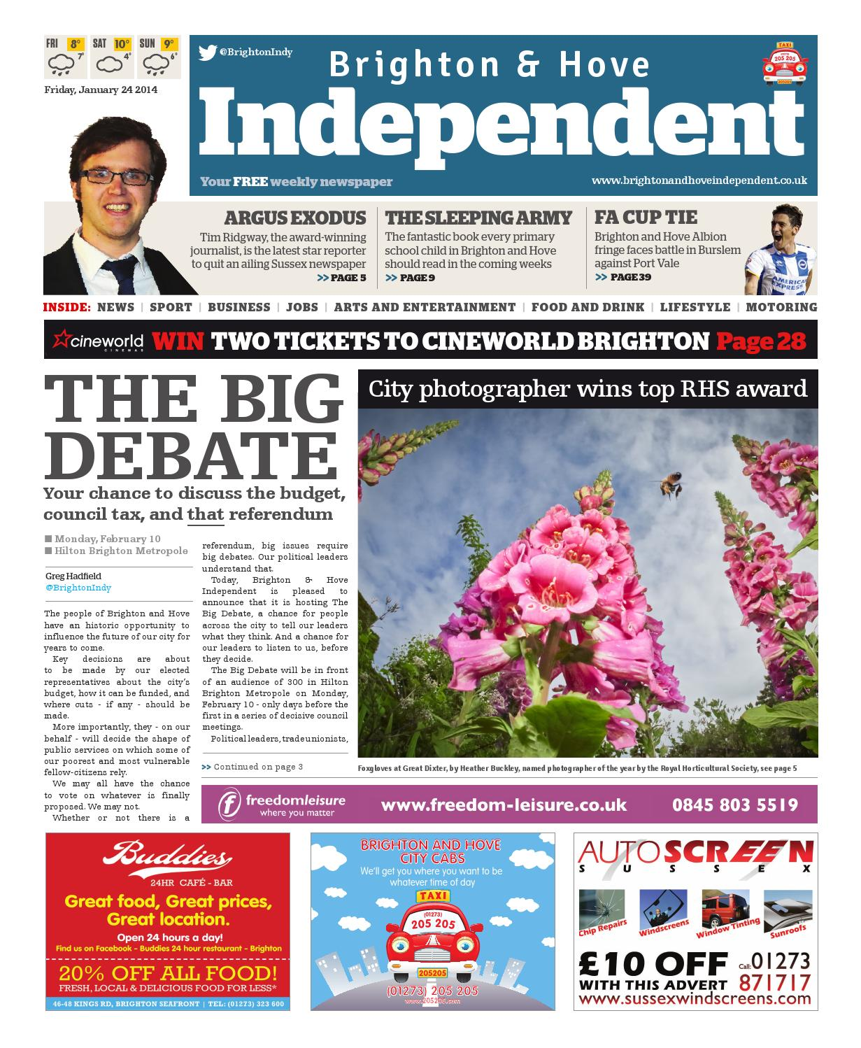 Brighton Hove Independent 24 January 2014 By Andrew Smith Regular 5 Pockets Hitam 38 Issuu