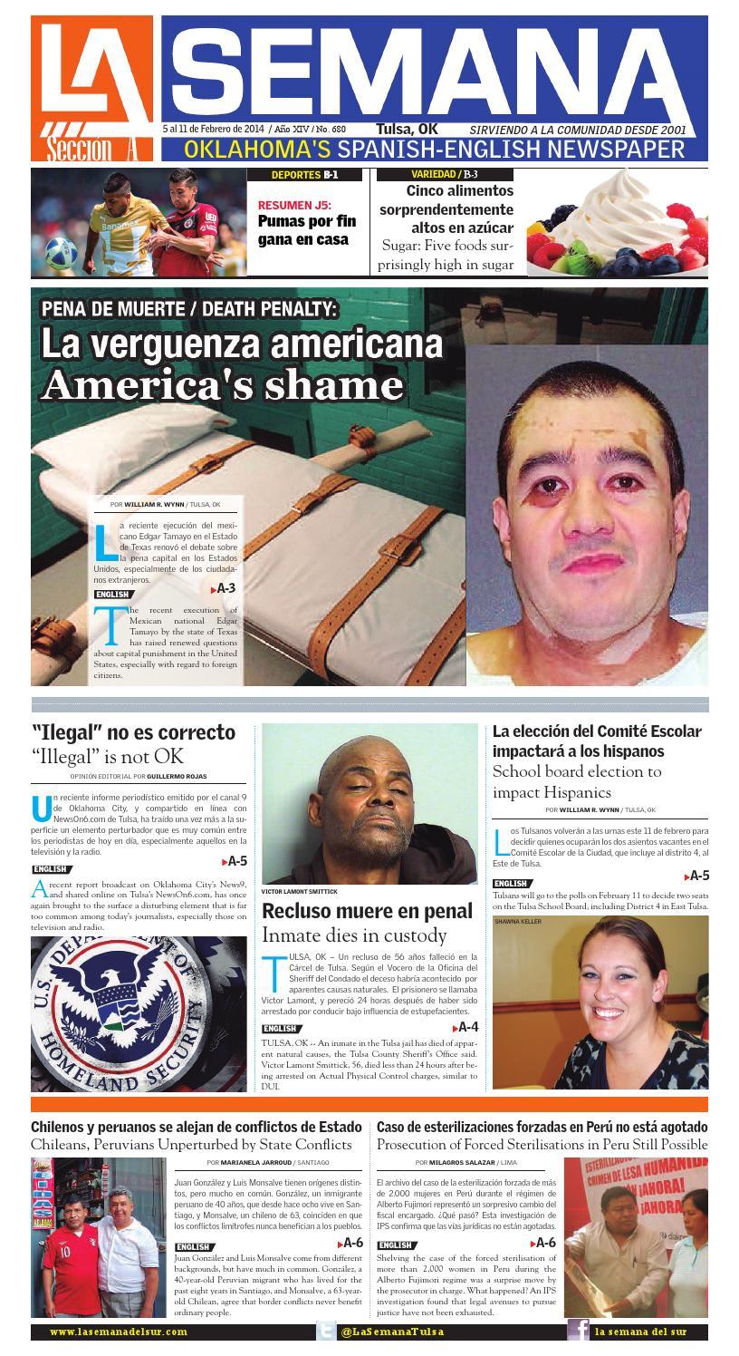 La semana edition 680 02052014 tulsa oklahoma usa by La Semana Del ...
