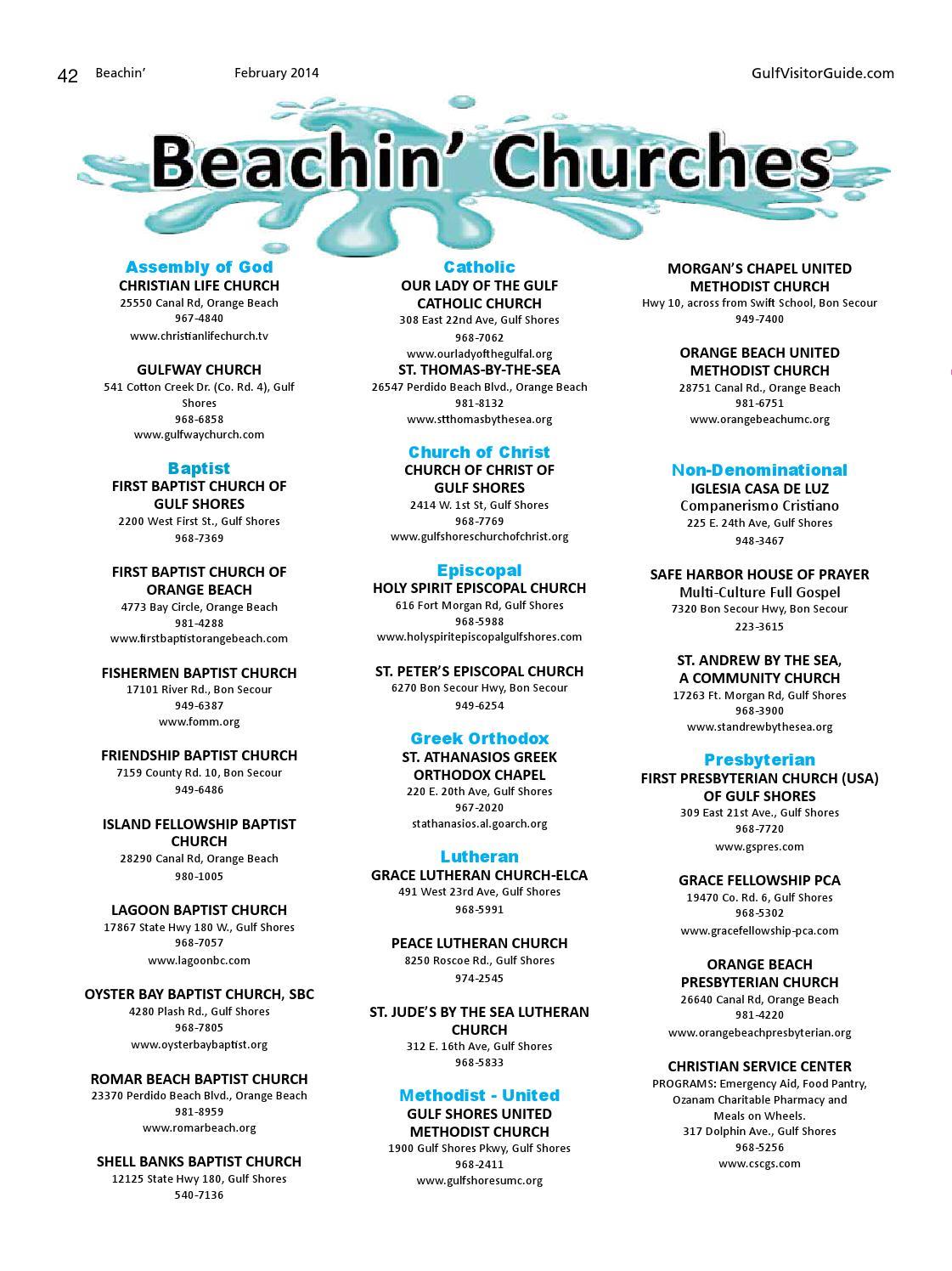 Beachin' (Feb  2014) by Gulf Coast Media - issuu