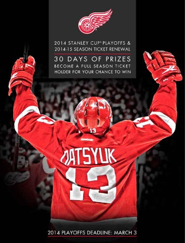 2014 15 partial season ticket plans by detroit red wings issuu