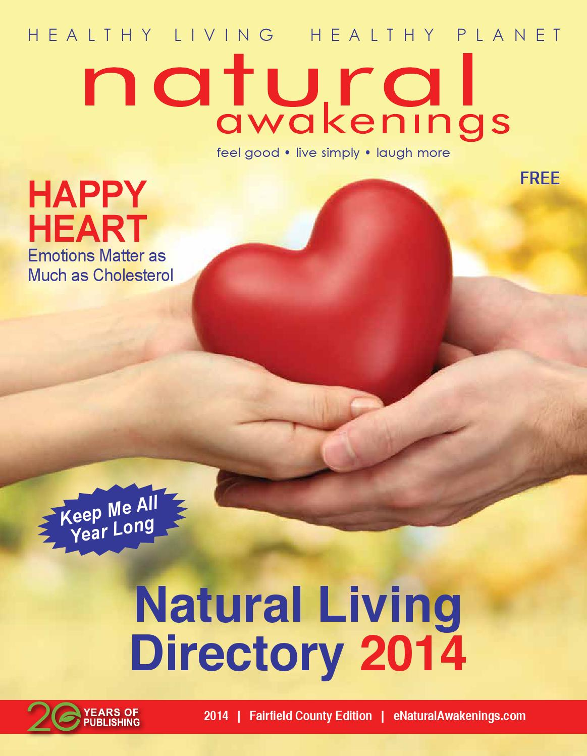 Natural Awakenings Fairfield County Natural Living Directory 2014 By