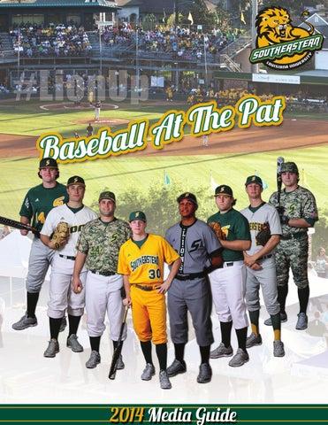 new arrival fca0f ee7d2 2014 Southeastern Louisiana Baseball Media Guide by ...