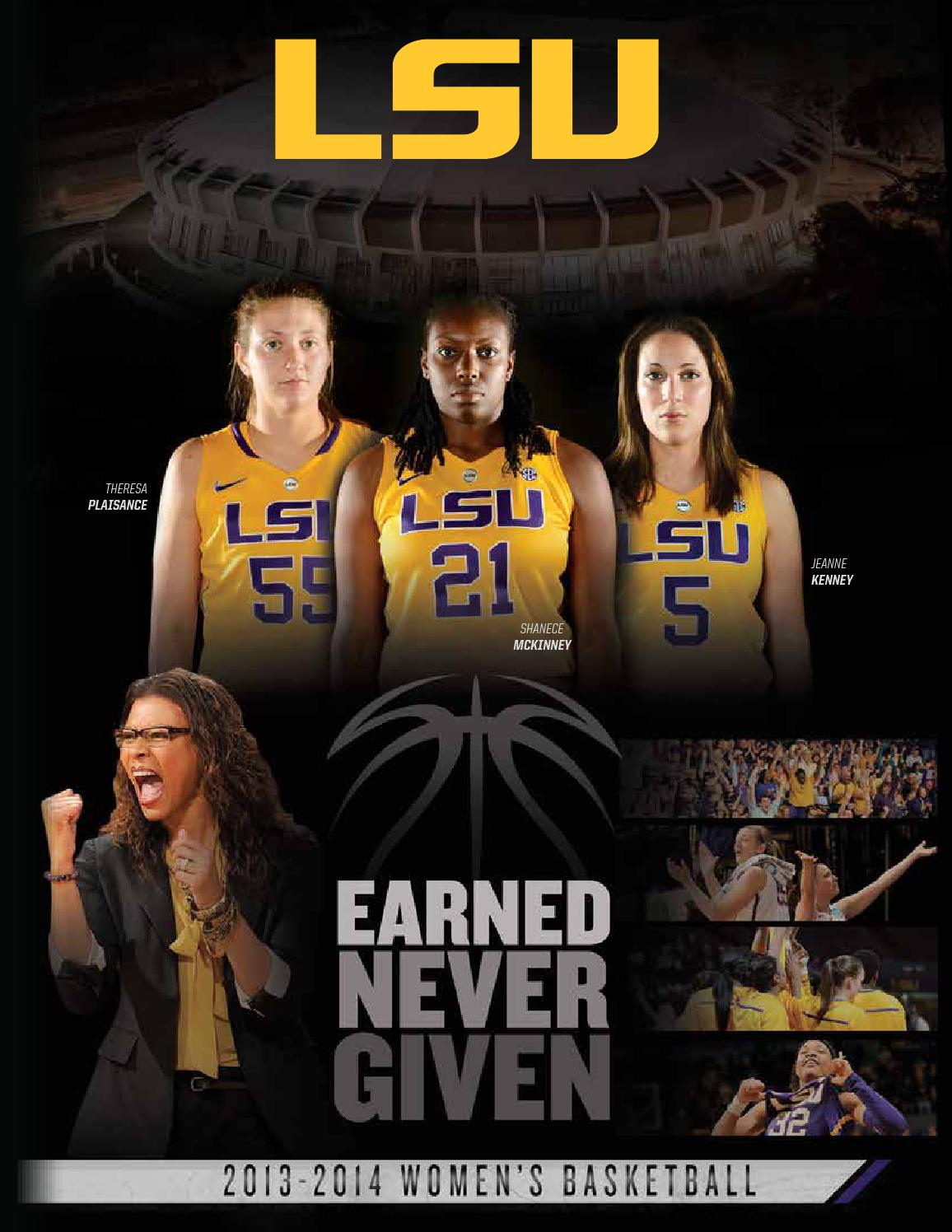 5e13cc1ce 2013-14 LSU Women s Basketball Guide by LSU Athletics - issuu