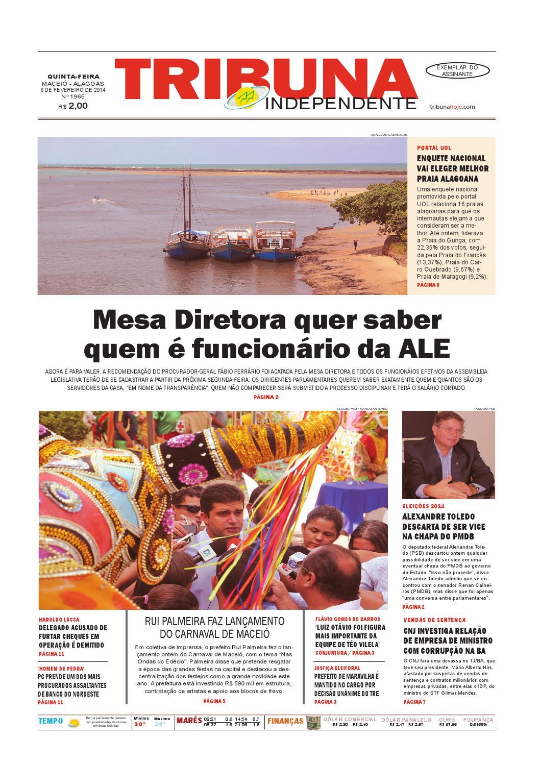 757828526ad Edição número 1965 - 6 de fevereiro de 2014 by Tribuna Hoje - issuu