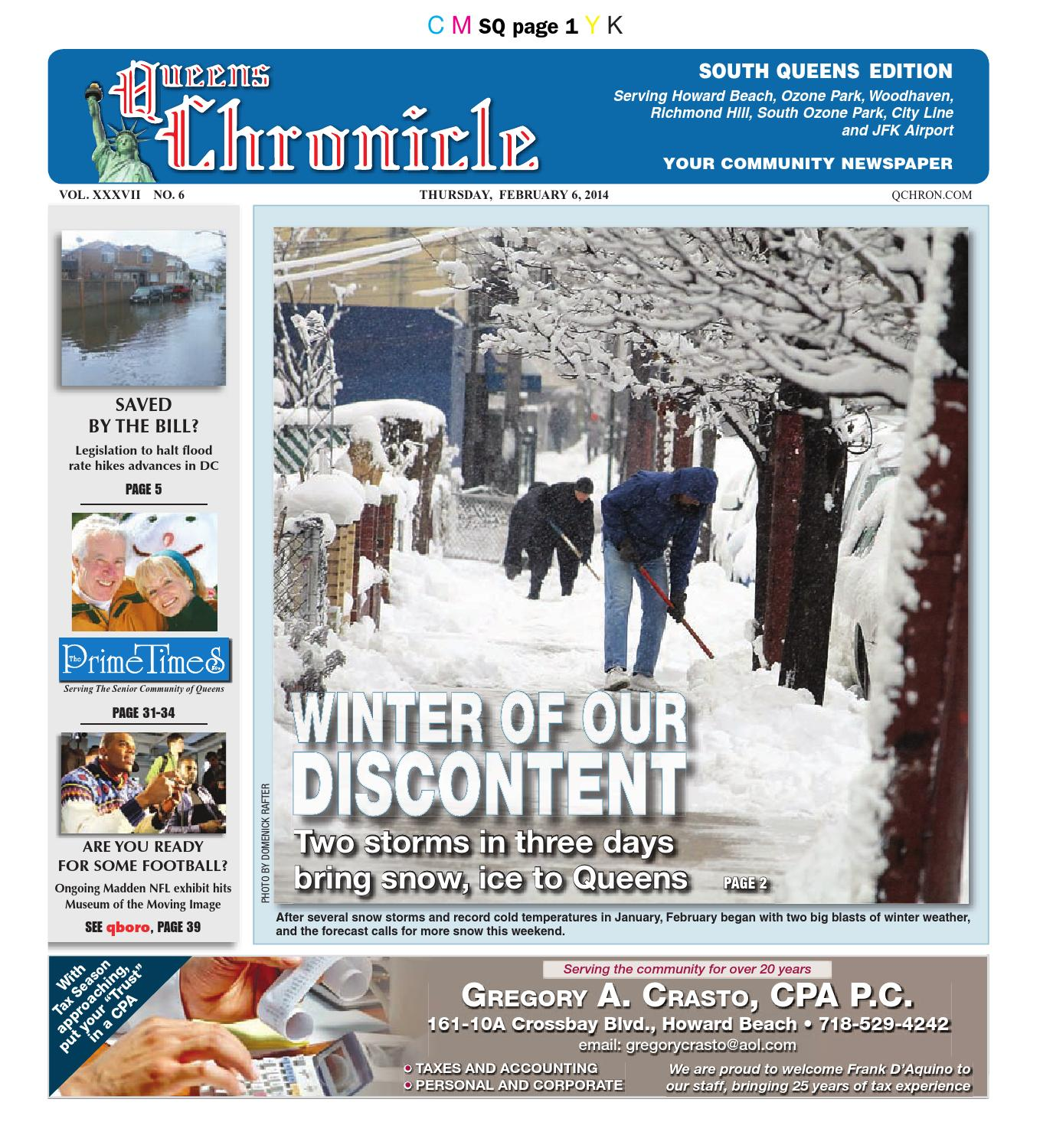 Queens Chronicle South Edition 02 06 14 By Queens Chronicle Issuu