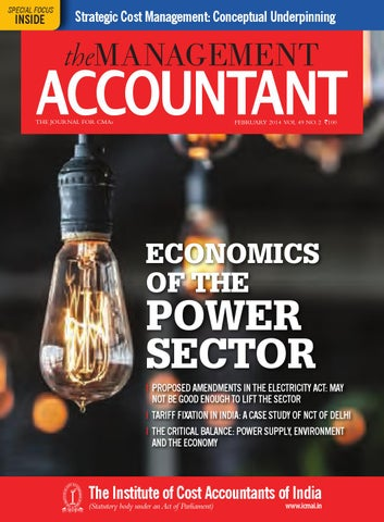 The Management Accountant, February 2014 by THE MANAGEMENT